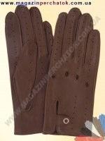 Модель № 086 Перчатки для водителей из натуральной кожи без подкладки. Кожа производства Италии.