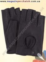 Модель № 299 Перчатки вело из натуральной кожи без подкладки. Кожа производства Италии.