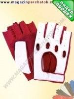 Модель № 314 Перчатки вело из натуральной кожи без подкладки. Кожа производства Италии.