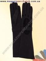 Модель № 293 Перчатки женские длинные из натуральной кожи. Кожа производства Италии.