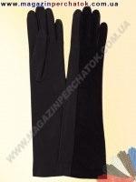Модель № 333 Перчатки женские длинные из натуральной кожи. Кожа производства Италии.