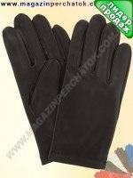 Модель № 090 Перчатки мужские без подкладки. Кожа производства Италии.