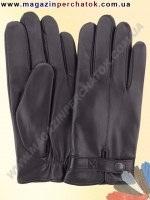 Модель № 320 Перчатки мужские из натуральной кожи на шерстяной подкладке. Кожа производства Италии.