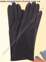 Модель № 061 Перчатки женские из натуральной кожи без подкладки. Кожа производства Италии.