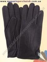 Модель № 309 Перчатки мужские из натуральной кожи на шерстяной подкладке. Кожа производства Италии.