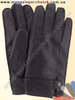 Модель № 297 Перчатки мужские из натуральной кожи на шерстяной подкладке. Кожа производства Италии.