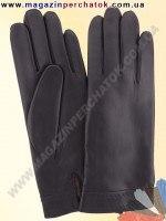Модель № 319 Перчатки мужские из натуральной кожи на шерстяной подкладке. Кожа производства Италии.