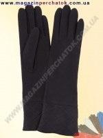 Модель № 353 Перчатки женские длинные из натуральной кожи на шелковой подкладке. Кожа производства Италии.