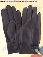 Модель № 352 Перчатки мужские на шерстяной подкладке. Кожа производства Италии.