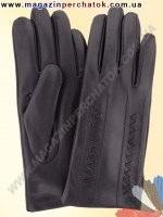 Модель № 345 Перчатки мужские из натуральной кожи на шерстяной подкладке. Кожа производства Италии.
