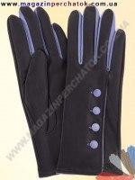 Модель № 074 Перчатки женские из натуральной кожи без подкладки. Кожа производства Италии.