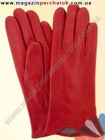 Модель № 340 Перчатки женские из натуральной кожи на шерстяной подкладке. Кожа производства Италии.