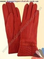 Модель № 344 Перчатки женские из натуральной кожи на шерстяной подкладке. Кожа производства Италии.