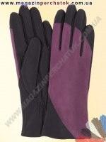 Модель № 367 Перчатки женские из натуральной кожи на шерстяной подкладке. Кожа производства Италии.