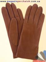 Модель № 369 Перчатки женские из натуральной кожи на шерстяной подкладке. Кожа производства Италии.