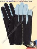 Модель № 350 Перчатки женские из натуральной кожи без подкладки. Кожа производства Италии.