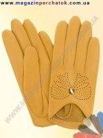Модель № 357 Перчатки женские из натуральной кожи без подкладки. Кожа производства Италии.