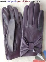 Модель № 358 Перчатки женские из натуральной кожи без подкладки. Кожа производства Италии.