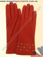 Модель № 324 Перчатки женские из натуральной кожи на шерстяной подкладке. Кожа производства Италии.