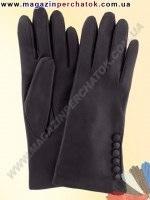 Модель № 363 Перчатки женские из натуральной кожи на шерстяной подкладке. Кожа производства Италии.