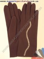Модель № 364 Перчатки женские из натуральной кожи на шерстяной подкладке. Кожа производства Италии.