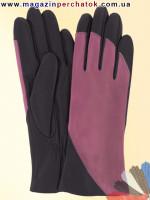 Модель № 367 Перчатки женские из натуральной кожи на шелковой подкладке. Кожа производства Италии.