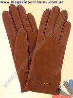 Модель № 369 Перчатки женские из натуральной кожи на шелковой подкладке. Кожа производства Италии.