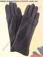 Модель № 372 Перчатки женские из натуральной кожи на шерстяной подкладке. Кожа производства Италии.