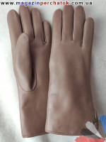 Модель № 043 Перчатки женские из натуральной кожи на подкладке из натурального меха. Кожа производства Италии.