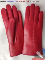 Модель № 164 Перчатки женские из натуральной кожи на подкладке из натурального меха. Кожа производства Италии.