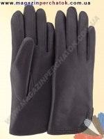 Модель № 177 Перчатки женские из натуральной кожи на подкладке из натурального меха. Кожа производства Италии..