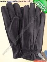 Модель № 169 Перчатки мужские из натуральной кожи на подкладке из натурального меха. Кожа производства Италии..