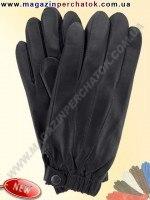 Модель № 375 Перчатки мужские из натуральной кожи на шерстяной подкладке. Кожа производства Италии.