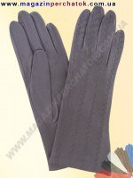 Модель № 181 Перчатки женские из натуральной кожи без подкладки. Кожа производства Италии.