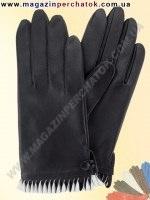 Модель № 389 Перчатки женские из натуральной кожи без подкладки. Кожа производства Италии.