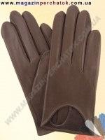 Модель № 377 Перчатки женские из натуральной кожи без подкладки. Кожа производства Италии.