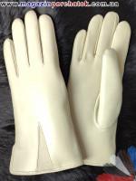 Модель № 213 Перчатки женские из натуральной кожи на подкладке из натурального меха. Кожа производства Италии.