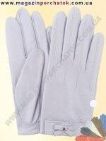 Модель № 395 Перчатки женские из натуральной кожи без подкладки. Кожа производства Италии.