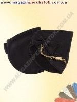 Модель № 400 Перчатки женские из натуральной кожи без подкладки. Митенки. Кожа производства Италии.