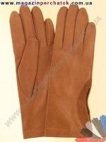 Модель № 195 Перчатки женские из натуральной кожи без подкладки. Кожа производства Италии.