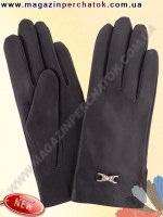 Модель № 078 Перчатки женские из натуральной кожи на шерстяной подкладке. Кожа производства Италии.