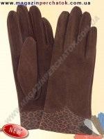 Модель № 134 Перчатки женские из натуральной кожи на шерстяной подкладке. Кожа производства Италии.