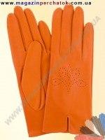 Модель № 203 Перчатки женские из натуральной кожи без подкладки. Кожа производства Италии.