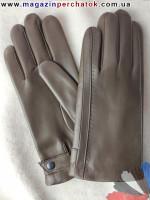 Модель № 062 Перчатки мужские из натуральной кожи на шерстяной подкладке. Кожа производства Италии.