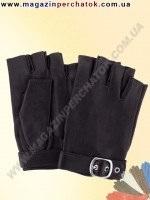 Модель № 403 Перчатки женские из натуральной кожи без подкладки. Митенки. Кожа производства Италии.