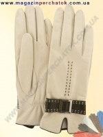 Модель № 407 Перчатки женские из натуральной кожи на шелковой подкладке. Кожа производства Италии.