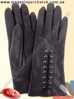 Модель № 017 Перчатки женские из натуральной кожи на шерстяной подкладке. Кожа производства Италии.