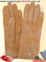 Модель № 204 Перчатки женские из натуральной кожи без подкладки. Кожа производства Италии.