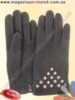 Модель № 409 Перчатки женские из натуральной кожи на шерстяной подкладке. Кожа производства Италии.