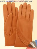 Модель № 411 Перчатки женские из натуральной кожи на шерстяной подкладке. Кожа производства Италии.